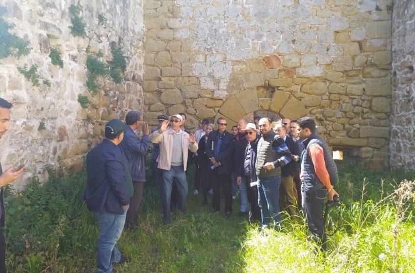 زيارة ميدانية لموقع القصر الصغير الأثري